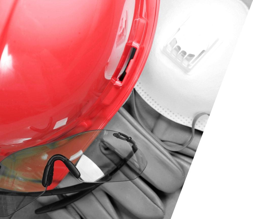 ochrona bhp podczas prac przy betonie