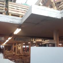cięcie w betonowych stropach