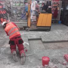 przycinanie betonu