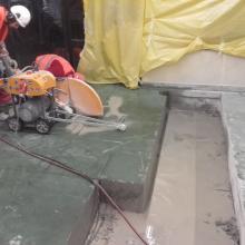 urządzenie do cięcia betonu