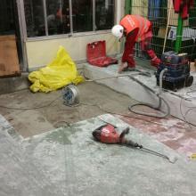bezpyłowe cięcie betonu