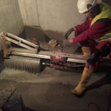 wykonywanie otworów w betonie