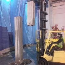 prace przy elementach betonowych