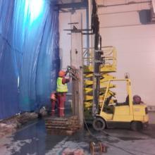 prace przy betonie